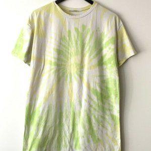 Fashion Nova Tie Dyed Tee Shirt Spiral Hippie M